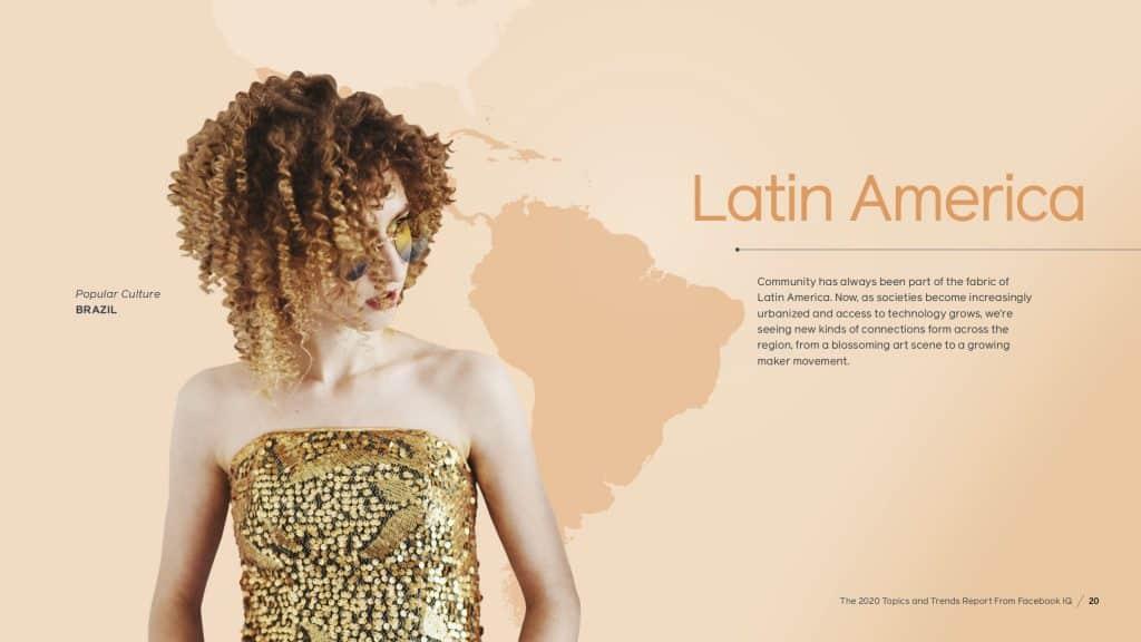 สรุป Facebook Latin America Trend and Insight 2020 Facebook IQ