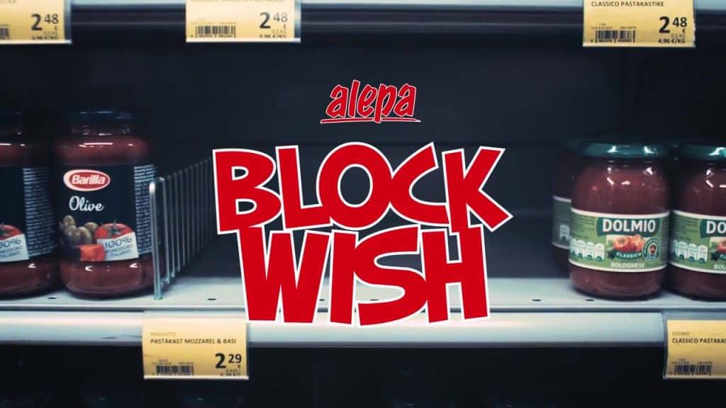Personalized Convenience Store Alepa Block Wish