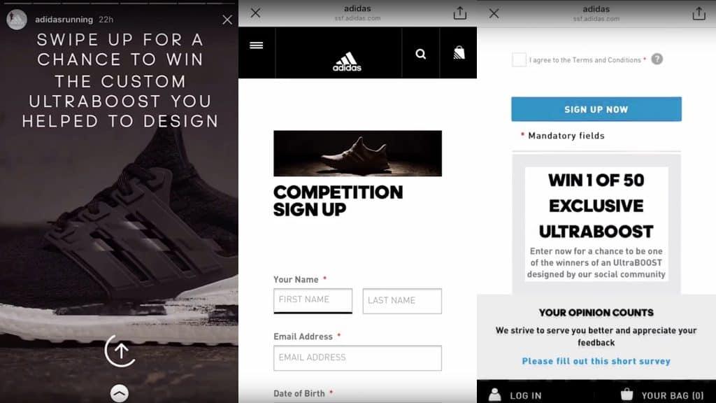 Adidas ทำ Data-Driven Design และเก็บ Data ของ Consumer ไปพร้อมๆ กันผ่าน Instagram Polls