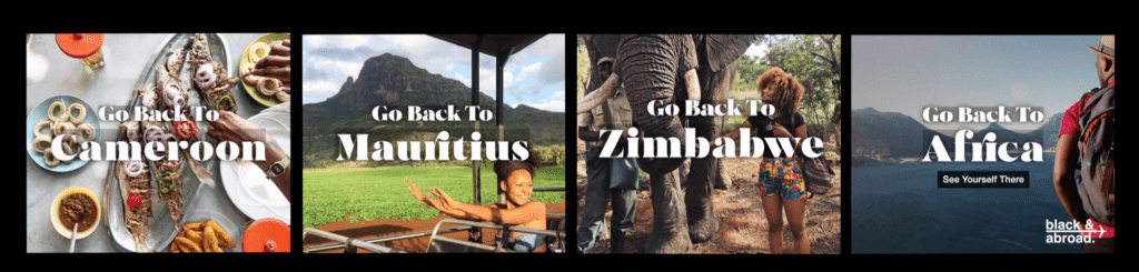 Personalised Ads ให้คน Go Back To Africa