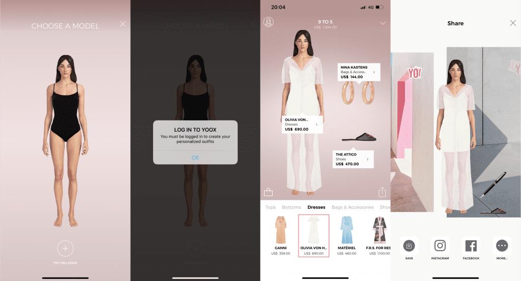 Yoox สร้าง AI Personal Shopper ชื่อว่า Daisy ให้คนได้ลองแต่ง เห็นชุดก่อนว่าใส่ขึ้นมาเป็นอย่างไร