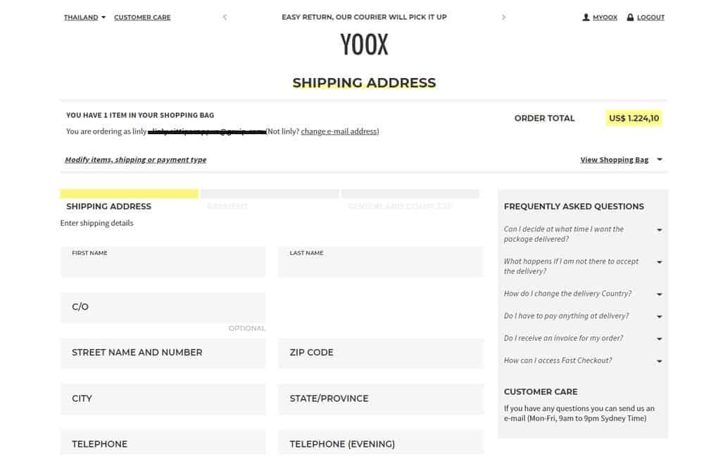 Omnichannel เพื่อบริหารระบบจัดการคลังสินค้าหรือ stock ของ Yoox