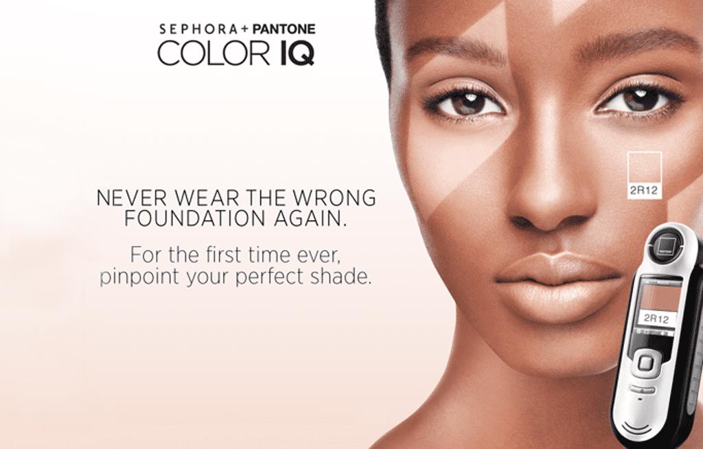 Sephora ColorIQ Test