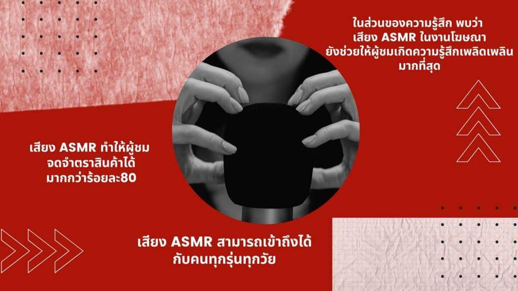 research ASMR Marketing thai SWU 2020
