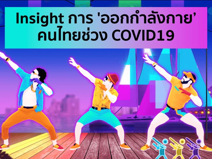 Insight การ 'ออกกำลังกาย' ของคนไทยช่วง COVID19