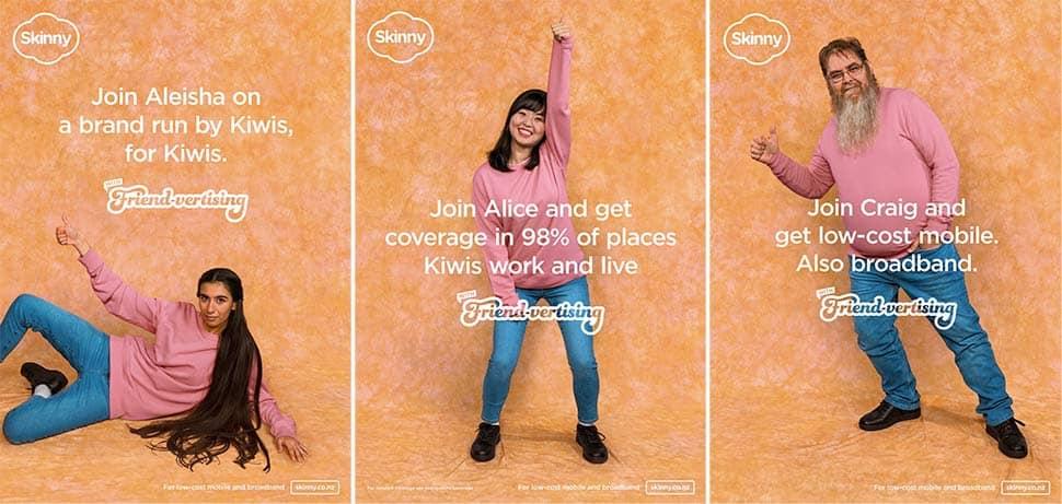 Friend-vertising จากโฆษณาของ Skinny เพื่อเพิ่ม Word-of-mouth