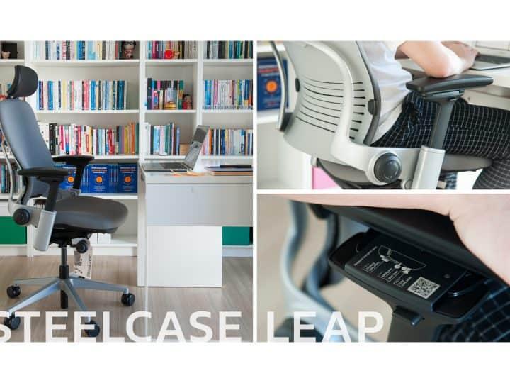Steelcase Leap เก้าอี้ทำงานที่จะทำให้การ Work From Home นานๆ ไม่เป็นปัญหาอีกต่อไป