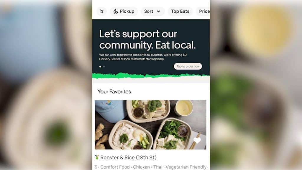 Uber Eats แพลตฟอร์มส่งอาหาร Food Delivery ประกาศยกเลิกค่าธรรมเนียมสำหรับร้านอาหารรายเล็กในช่วง COVID-19 เพื่อช่วยกันต่อสู้กับวิกฤตนี้ไปด้วยกัน