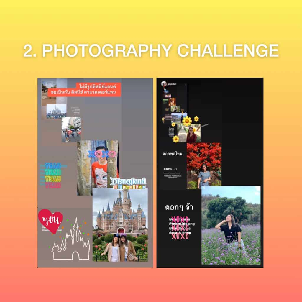Photography Instagram Story  Challenge