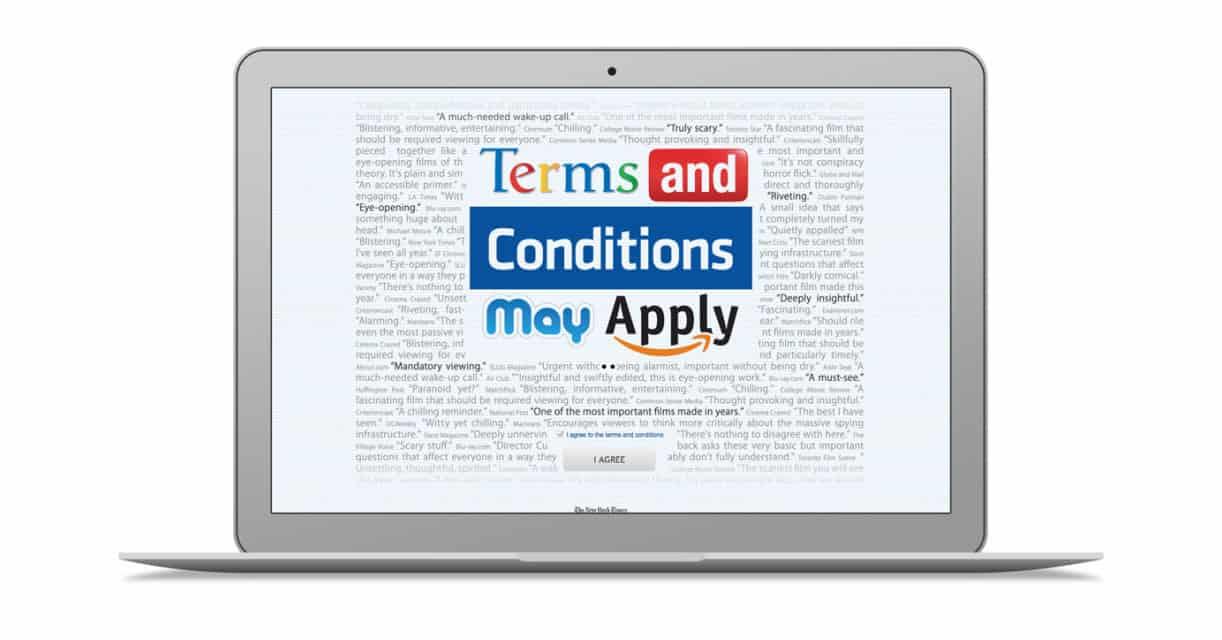 Terms and Conditions May Apply สารคดีที่จะทำให้คุณเห็นค่าของ Data มากขึ้น