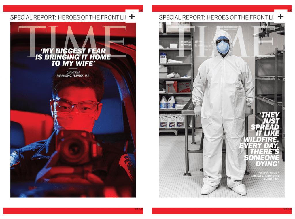 Influencer ยุคใหม่ หรือบุคลากรทางการแพทย์ที่ได้ขึ้นหน้าปกนิตยสาร TIME