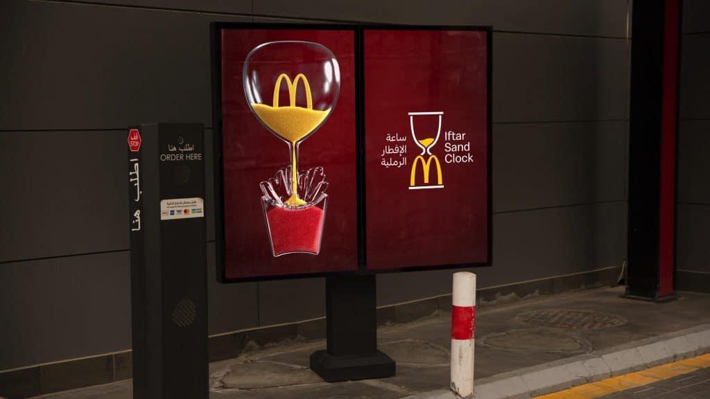 Iftar Sand Clock McDonalds Marketing Campaign