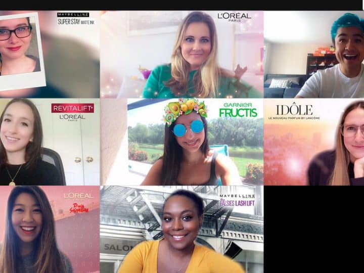L'ORÉAL Virtual Experience Snapchat Filters in Snap Camara