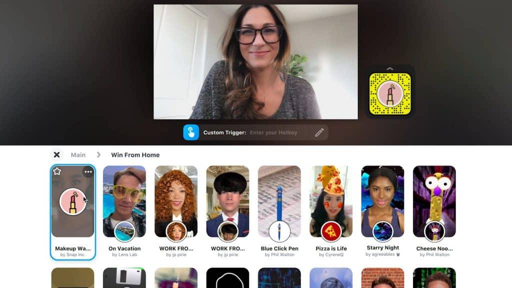 L'ORÉAL กับการลองเครื่องสำอางออนไลน์ Virtual Experience ด้วยการจับมือกับ Snapchat Filters บนแพลตฟอร์มใหม่ Snap Camara ทำให้การประชุมออนไลน์มีสีสันขึ้น