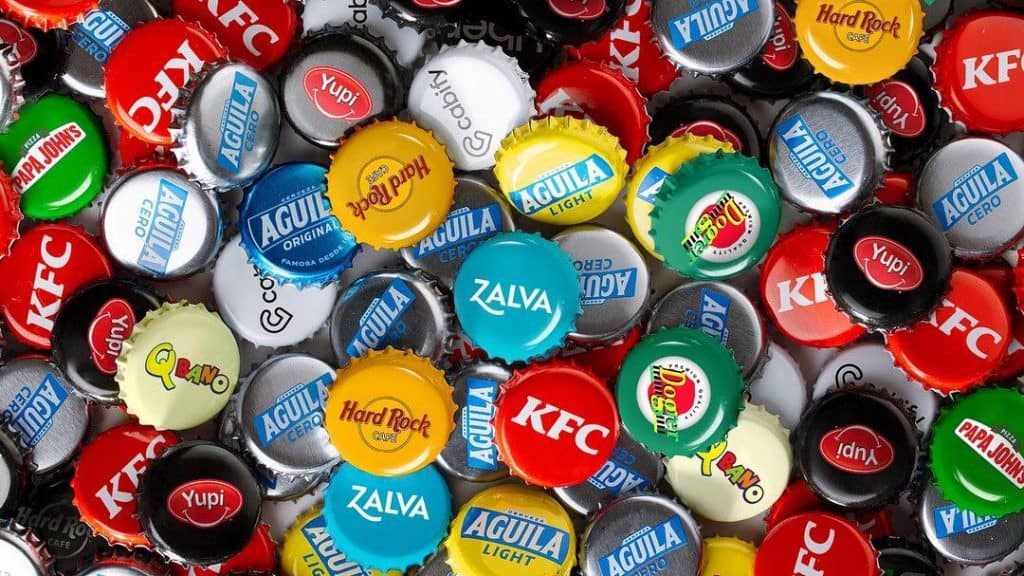 Aguila Beer Cap Project