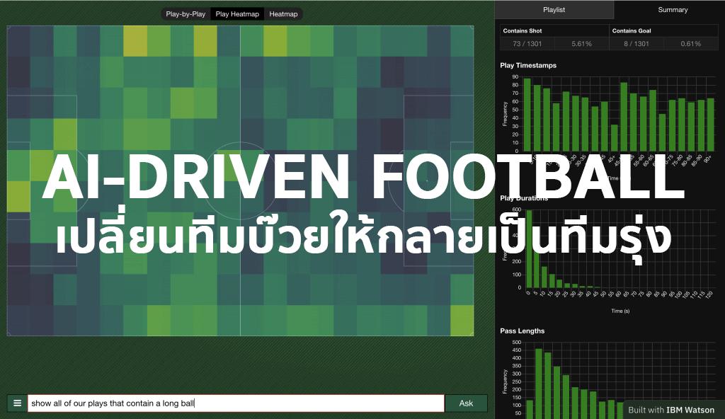 AI-Driven Football เมื่อ IBM Watson ทำให้ทีมบ๊วยขยับมาอยู่อันดับที่ 9 ได้