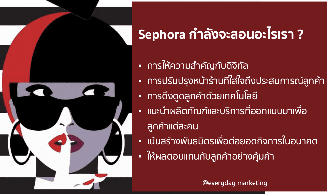 """วิเคราะห์ Sephora ที่ใช้ """"เทคโนโลยี"""" กับธุรกิจอย่างลงตัว"""
