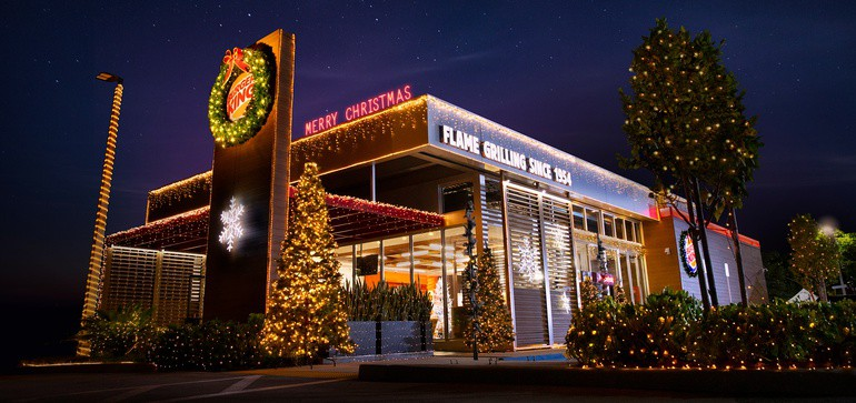 Christmas in July จาก Burger King