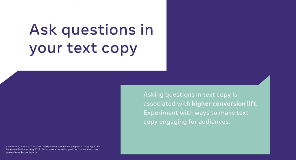 Facebook Brand message tips ถามคำถาม