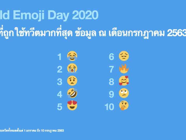 Twitter เผยเทรนด์การใช้ Emoji ในไทย ฉลอง #วันอีโมจิโลก