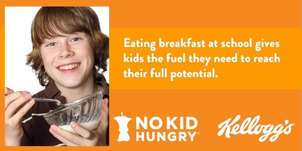Kellogg's and No Kid Hungry