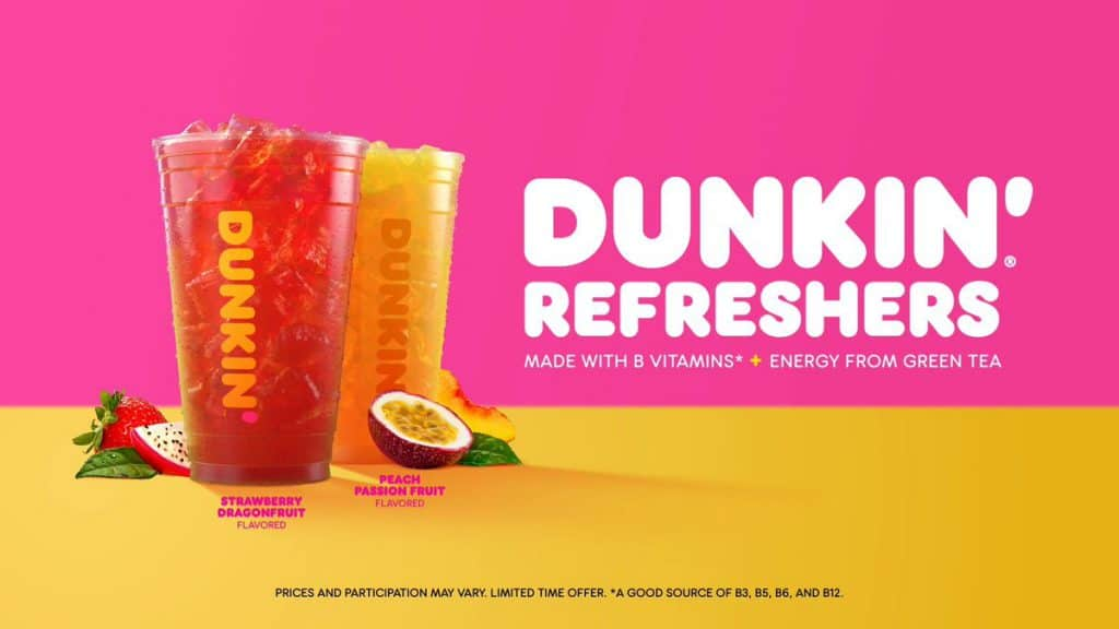 Dunkin' Donuts เมนูใหม่ที่อเมริกา