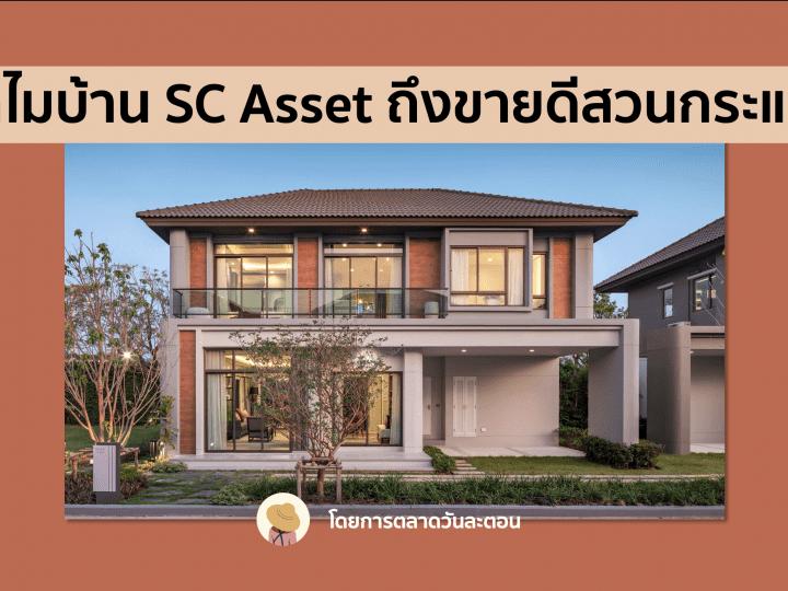 ทำไม? บ้าน SC Asset ถึงขายดีสวนกระแส COVID19 จนแตะ New High