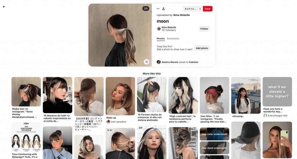 AR Try-On Pinterest