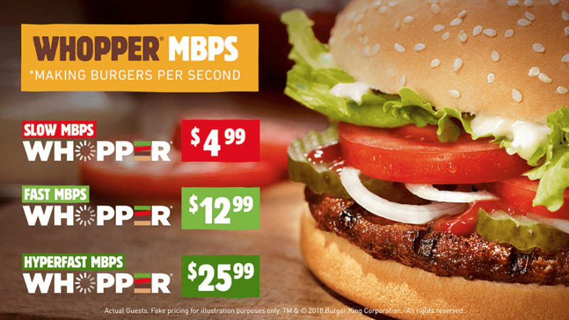 Brand for People เมื่อคนไม่ตระหนักถึงกฏหมาย Net Neutrality Burger King จึงอาสาเล่าปัญหาผ่าน Whopper