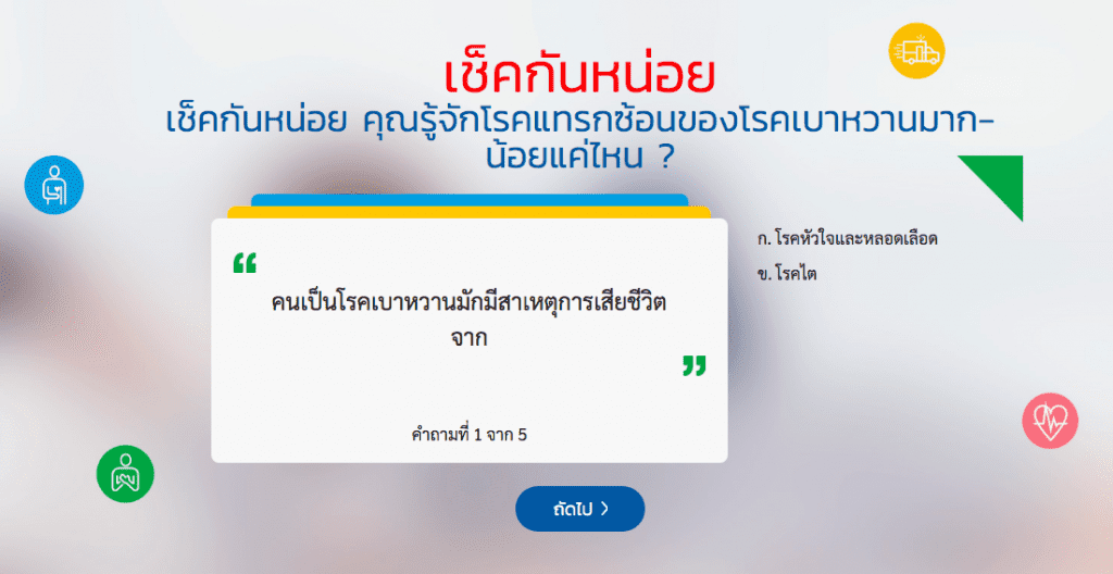 Edutainment Marketing เบาหวานไม่เบาใจ กับการ Localize ให้ถูกใจคนไทยไม่เบา โดย สมาคมโรคเบาหวานแห่งประเทศไทย และ Boehringer Ingelheim