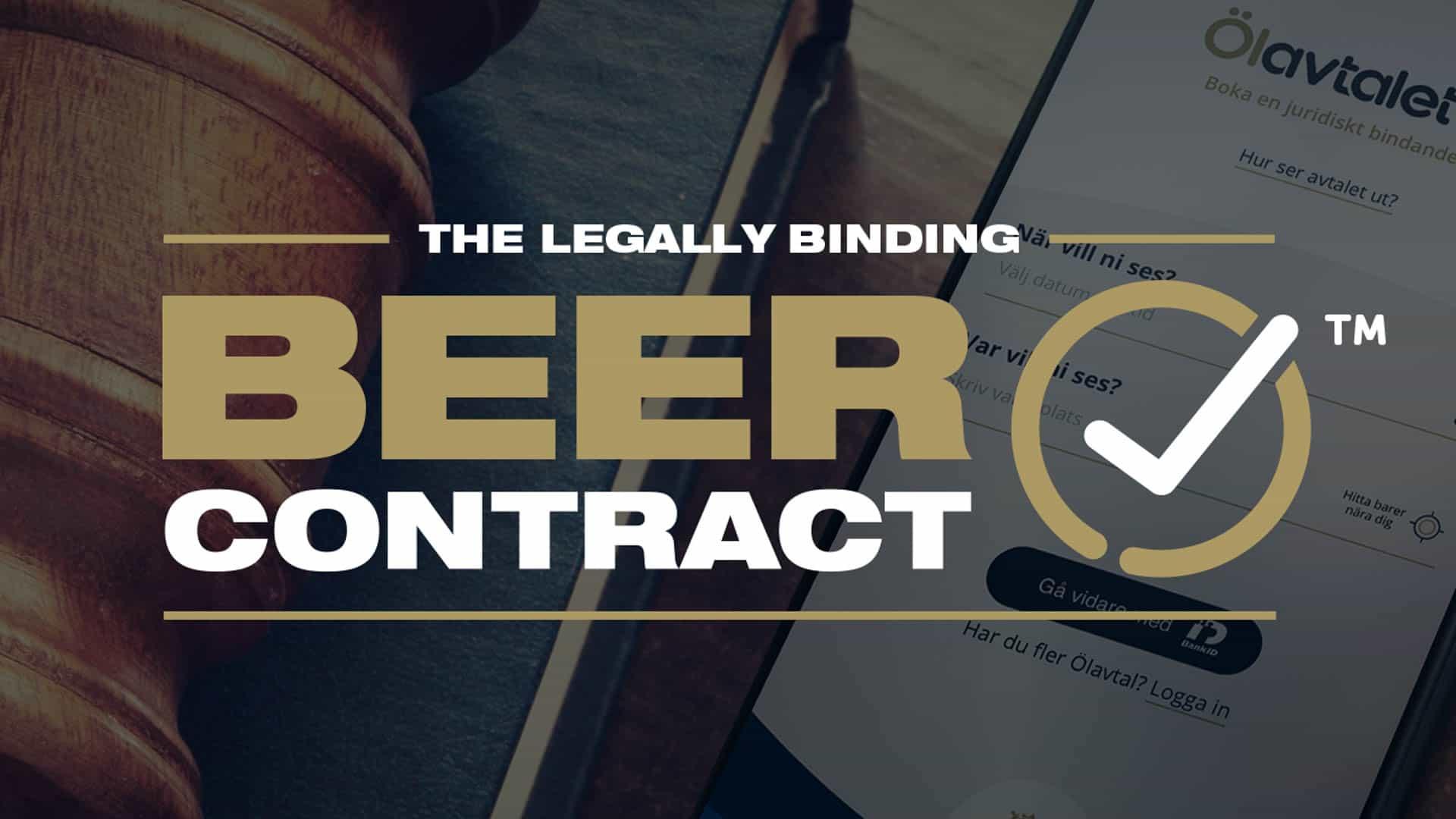 Hackvertising ถ้าเบี้ยวนัดดื่มเบียร์งั้นไปเคลียร์กันที่ศาล – The Legally Binding Beer Contact
