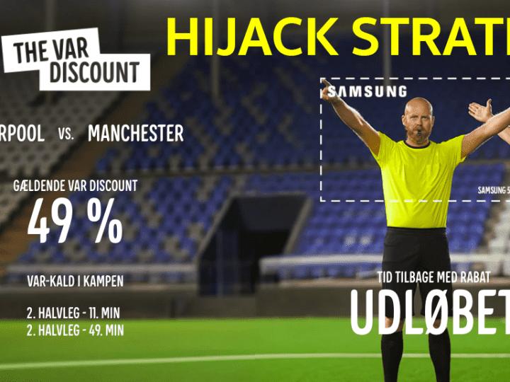 Hijack Marketing Strategy แจกส่วนลดแบบสร้างแบรนด์ Creativity Discount กับแคมเปญการตลาด VAR Discount ที่ฉวยโอกาสจากสัญลักษณ์มือกรรมการฟุตบอล