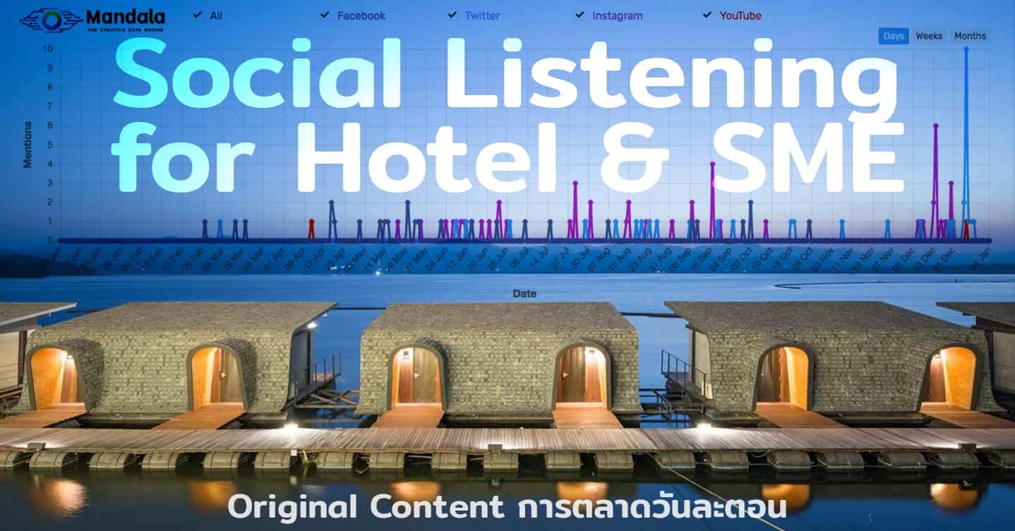 ใช้ Social listening แกะรอย Z9 Resort ปังเพราะ Influencer คนไหน