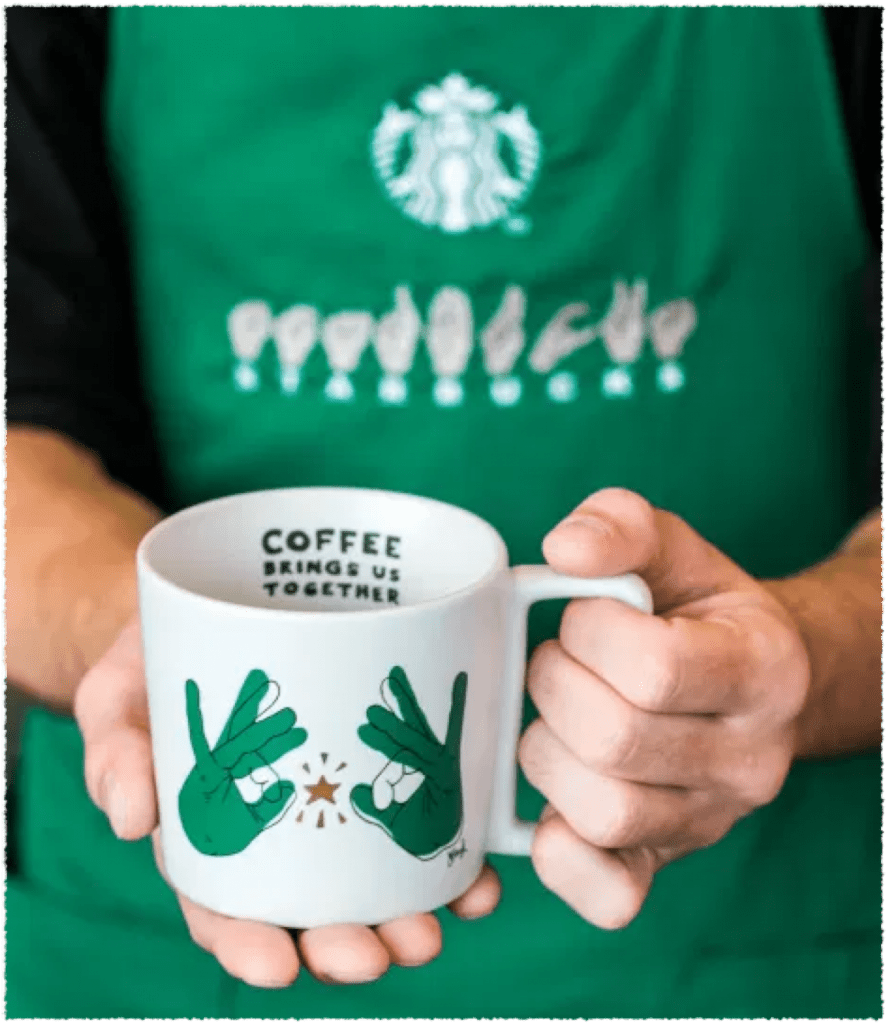 Starbucks Signing Store