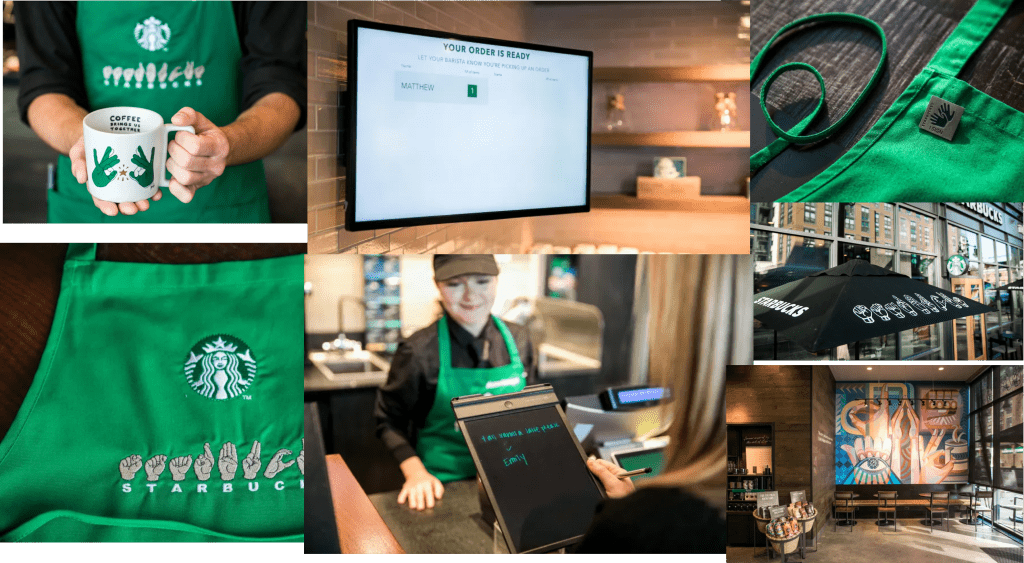 Starbucks Service Design for people with disabilities