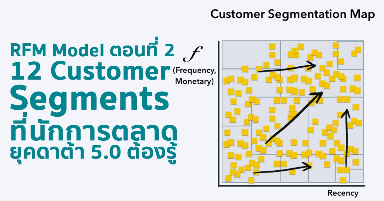 12 Customer Segments จาก RFM Model ที่นักการตลาดยุคดาต้า 5.0 ต้องรู้