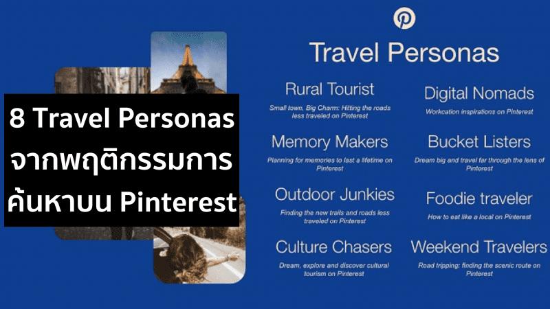 Pinterest Travel Personas