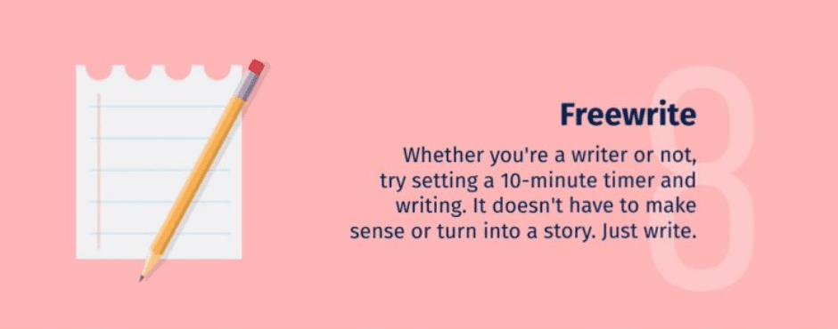 เวลา คิดไอเดียไม่ออก ให้เขียนเยอะๆ