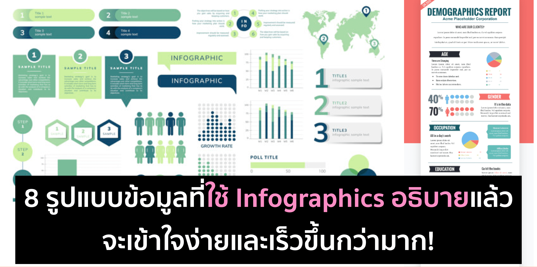 ข้อมูลแบบไหนทำเป็น Infographics แล้วเข้าใจง่ายขึ้น?