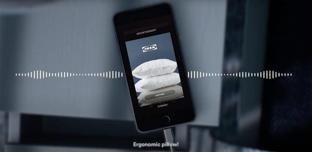 Contextual Ads ของ IKEA บน Spotify จากแคมเปญ Won't Wake The Baby