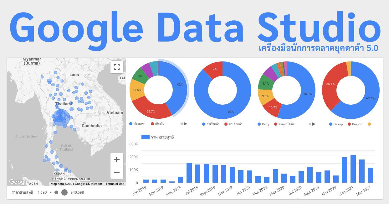 Google Data Studio เริ่มต้น Analytics แบบง่ายๆ ที่นักการตลาดยุคใหม่ต้องรู้