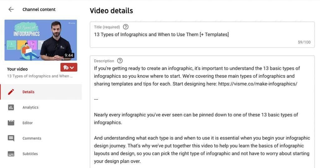 เพิ่ม YouTube SEO ด้วยการใช้ Keywords ที่ใช่