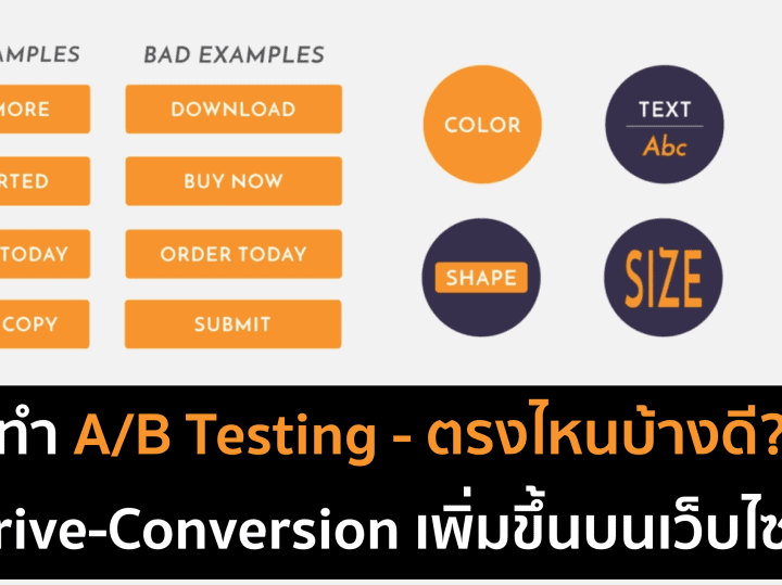 A/B Testing เพื่อทำ Data-Driven บนเว็บไซต์