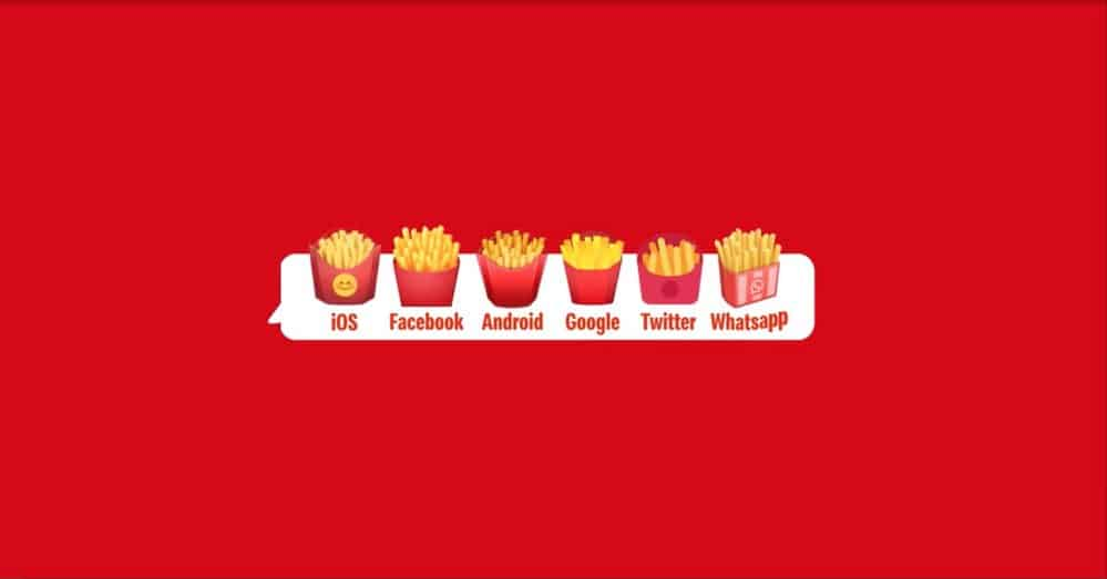 McDonald's ฉลอง World Emoji Day