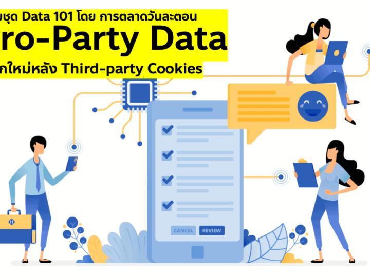 การตลาดยุคดาต้าต้องรู้จักใช้ Zero-Party Data เข้ากับ Data Strategy เพื่อทดแทน Third-party data ที่ไม่มีอีกต่อไปในยุค Privacy Era