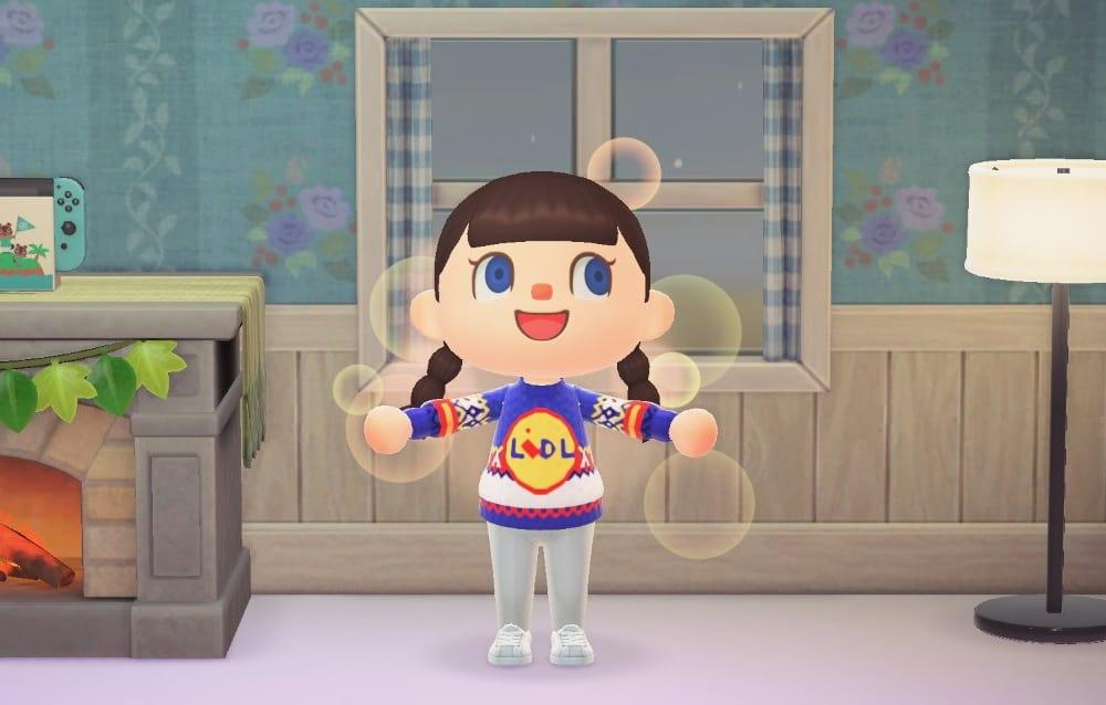แบรนด์ Fashion ใช้ Avatar ในเกม Animal Crossing ขายเสื้อผ้า