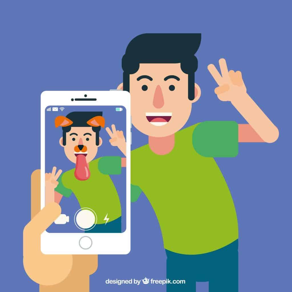 AR เป็น Social Media Trends 2022
