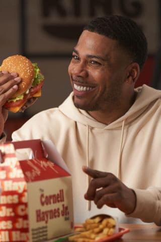 แคมเปญ Keep It Real ของ Burger King กับ Nelly