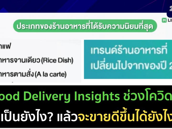 Food delivery insights ช่วงโควิด ปี 2021