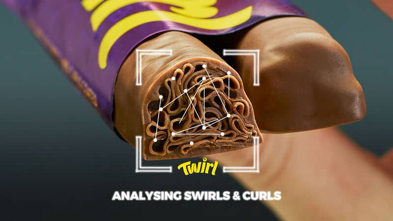 ทำนายอนาคตจากลาย Chocolate จากแบรนด์ Cadbury Twirl